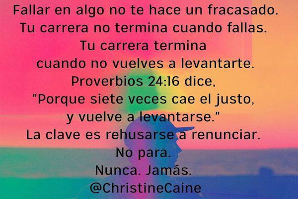 No Para - CHRISTINE CAINE