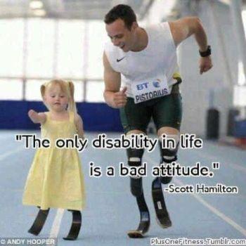 Tu Actitud: Una Discapacidad o Una Bendicion
