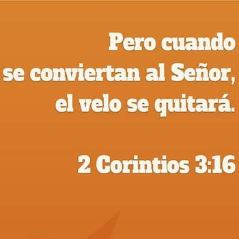 2 Corintios 3:16