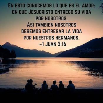 1 Juan 3:16