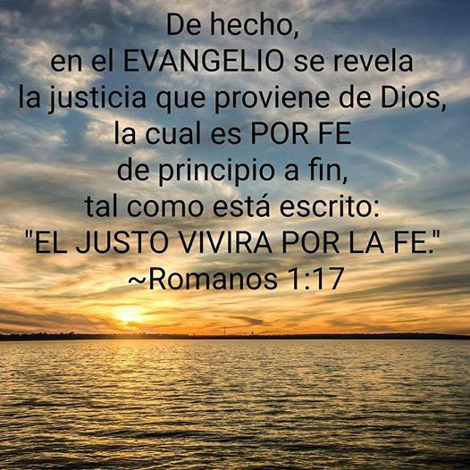 VERSICULO BIBLICO DE LA REFORMA - Romanos 1:17