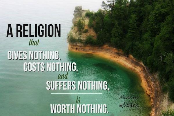 Una Religion Sin Valor - Martin Lutero