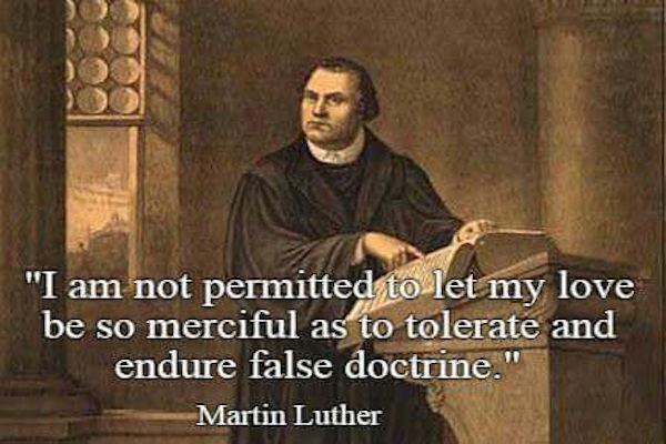 La Doctrina Falsa - Martin Lutero