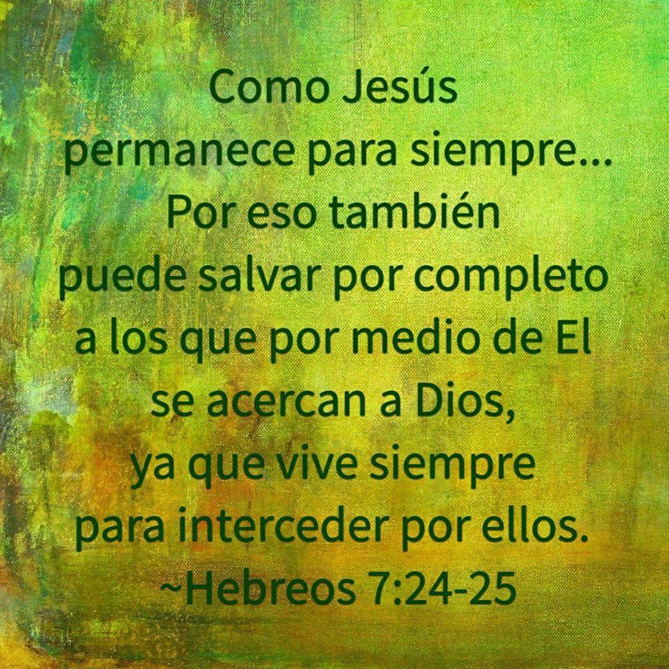 VERSICULO BIBLICO DE LA REFORMA - Hebreos 7:24-25