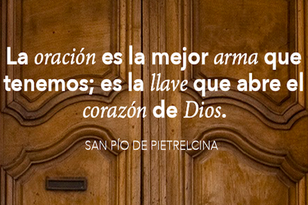 Frases De Vida La Oracion Pio De Pietrelcina