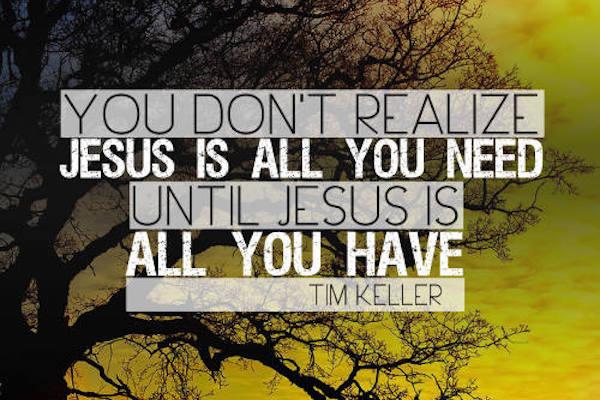 Jesus Es Todo Lo Que Necesitas - Tim Keller
