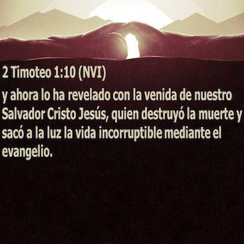 2 Timoteo 1:10
