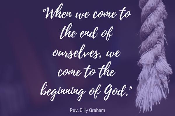 El Fin de Nosotros Mismos - Billy Graham