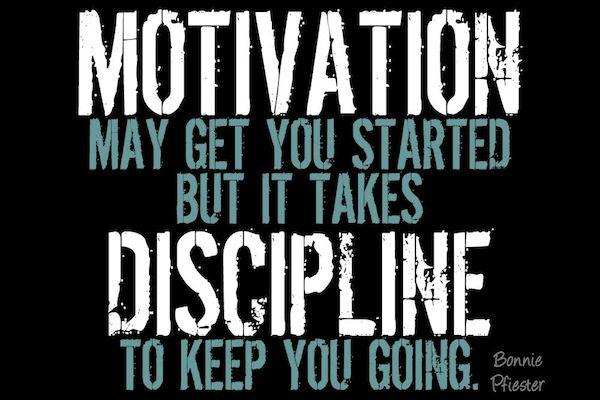 Motivacion y Disciplina